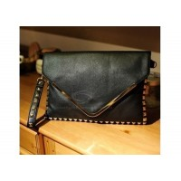 Party Women's Clutch With PU Leather Punk Style Studs Design