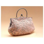 Party Women's Evening Bag With Embroidery and Beaded Design