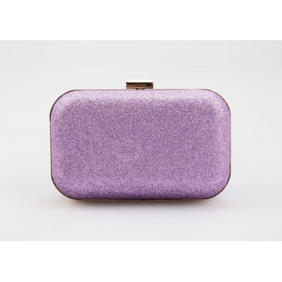 Party Women's Evening Bag With Sparkling Glitter and Candy Color Design
