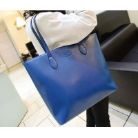 Pretty Women's Shoulder Bag With Solid Color and PU Leather Design