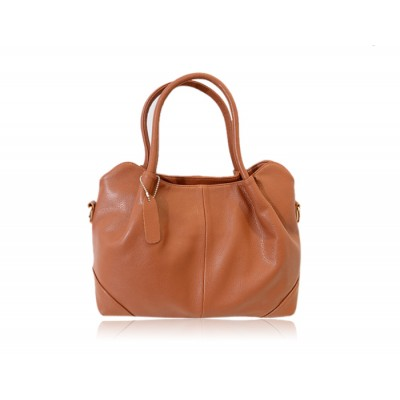 Simple Style Women's Shoulder Bag With Solid Color and PU Leather Design