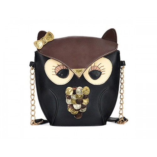 7b2a840bd27f Sweet Women s Shoulder Bag With Animal Pattern and Chains Design Zoom.  Product ...