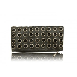 Stylish Style Outdoor Women's Clutch With Chain Envelope and Studs Design
