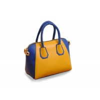 Stylish Women's Street Level Handbag With Tote and Color Block Design