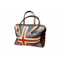 Casual Vintage Style PU Leather Women's Tote Bag With Color Block and Zipper Design