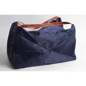 Casual Women's Handbag With Pure Color and Zipper Design