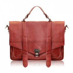 Fashion Women's Tote Bag With Solid Color and PU Leather Design