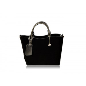 Fashion Women's Tote Bag With Splicing and Rivets Design