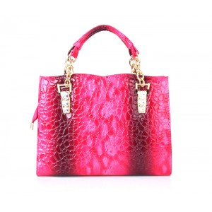 Fashion Women's Tote Bag With Stone Pattern and Rhinestones Design
