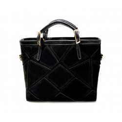 Gorgeous Women's Tote Bag With Geometric and Buckle Design