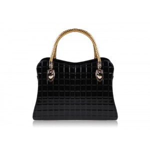 Outdoor Women's Tote With Checked and Candy Color Design