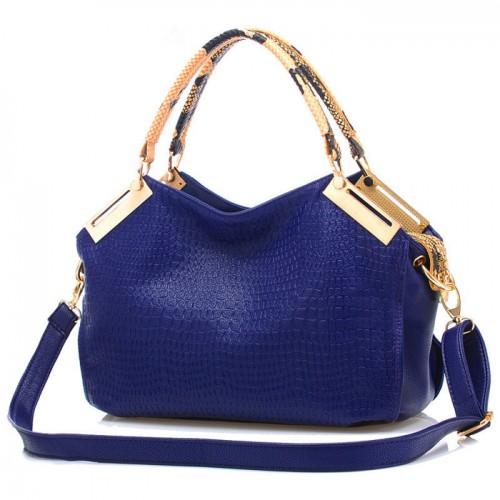 Pretty Women s Tote Bag With Geometric and Metallic Design (Pretty ...