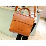 Retro Style Women's Tote Bag With PU Leather and Solid Color Design