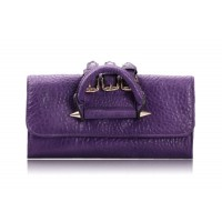 Trendy Style Women's PU Leather Clutch With Pure Color Design