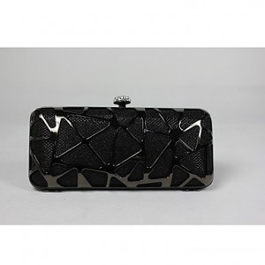 Women's Fashion Geometric Sequin Clutch