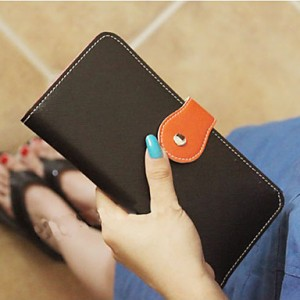 Women's Stylish Cute Ultra-thin Candy Color Wallet