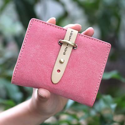Women's Vintage Matte Wallet