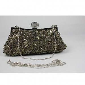 Women's Vintage Stylish Floral Print Clutch