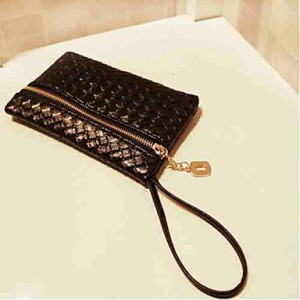 Women's Weaved Clutch Bag